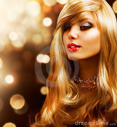 Free Girl With Blonde Hair Royalty Free Stock Photography - 24054947
