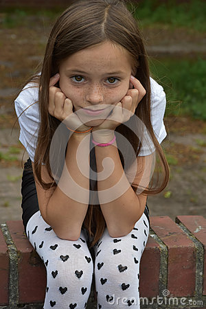 Free Girl With Fancy  Pair Of Tights Stock Photography - 76752912