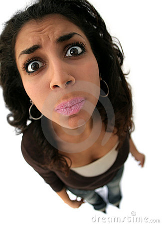Free Girl With Funny Expression Royalty Free Stock Photo - 7537505
