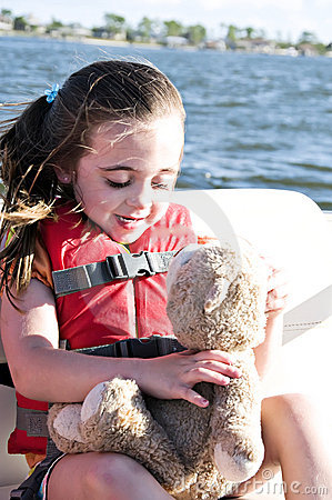 Free Girl With Lifejacket Stock Images - 6508794