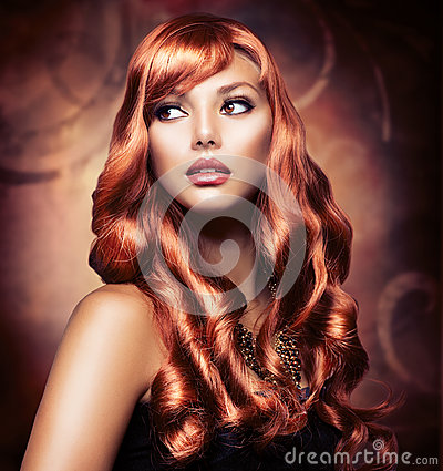 Free Girl With Red Hair Royalty Free Stock Photography - 27404987