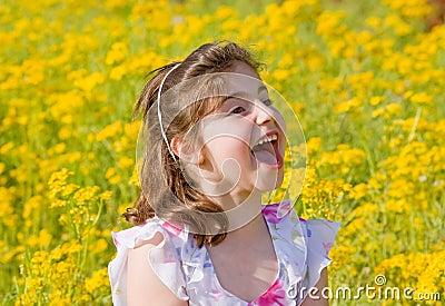 Girl Yelling