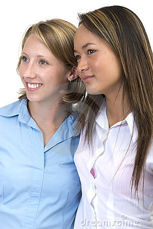 Girlfriends 4 Stock Images - Image: 572744