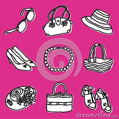 Girls accessories set