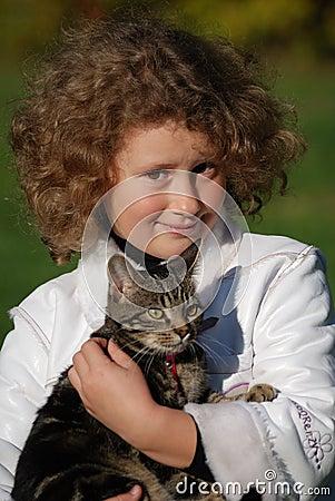 Girls cat