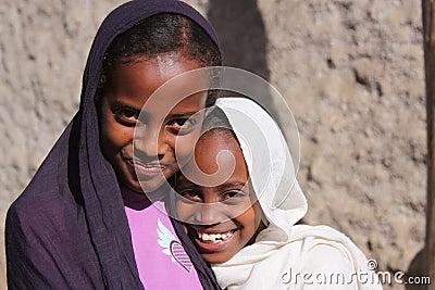 Girls in Ethiopia Editorial Stock Image