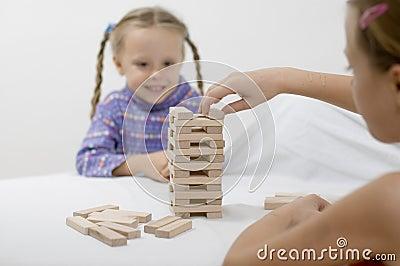 Girls / game / white