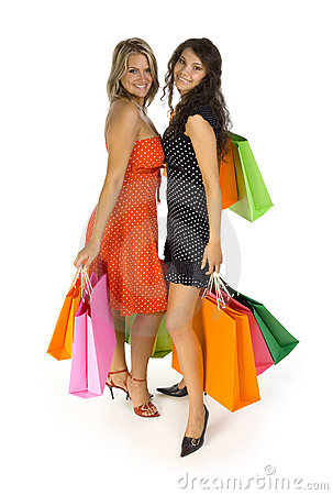 Girls gone shopping