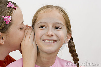 Girls / Gossip Stock Image - Image: 285661