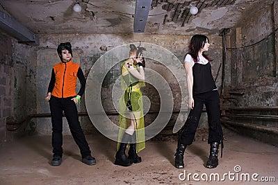 Girls of goth