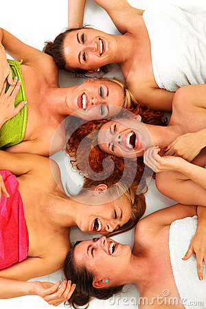 Free Girls In Spa Royalty Free Stock Photo - 27732255