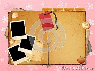 Girls journal layout