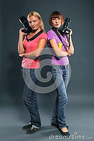 Girls photographers