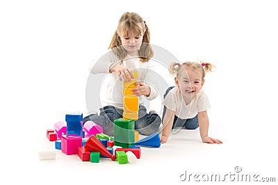 Girls play