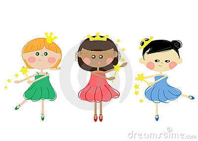 Girls Princesses