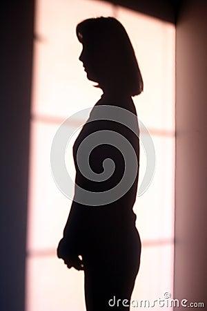 Girls shadow
