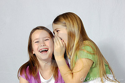 Girls Sharing A Joke