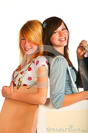 Girls shopping..bigtime.