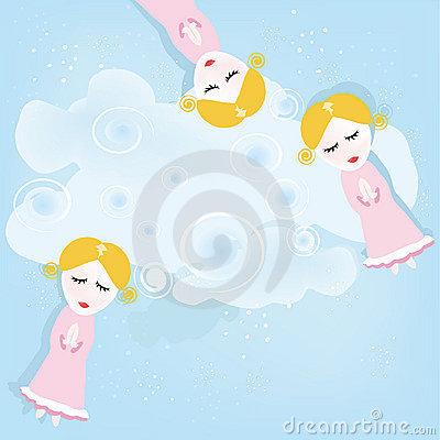 The girls similar to fairies
