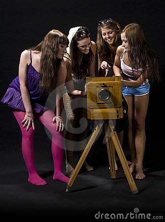 Girls in Studio