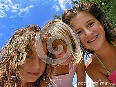 Girls summer party