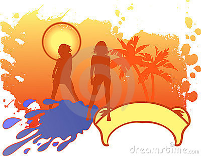 Girls Vacation Logo.