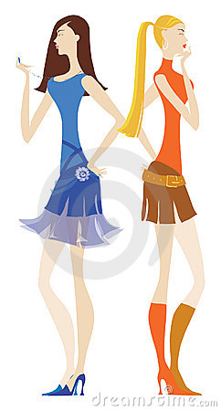 Free Girls Waiting Stock Images - 559334