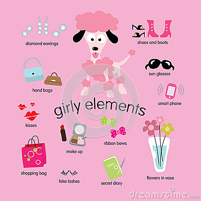 Girly Elements Set