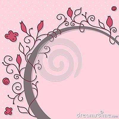 Girly frame bonito