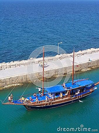 Girne(Kyrenia)Marina Entrance