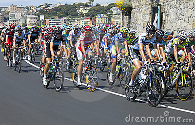 Giro d Italia 2011 Editorial Stock Image