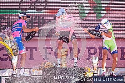 Giro d Italia Editorial Photo