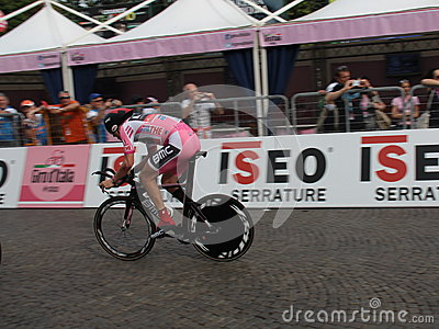 Giro d Italia - BMC RACING  team Editorial Image
