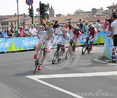 Giro d Italia - ITERA team Editorial Photo