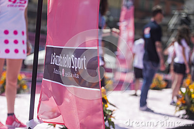 Giro d italia 2013 Editorial Stock Photo