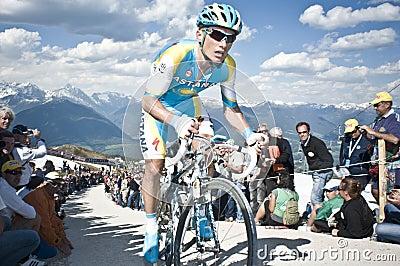 Giro d Italia Plan de Corones Kronplatz Editorial Stock Photo