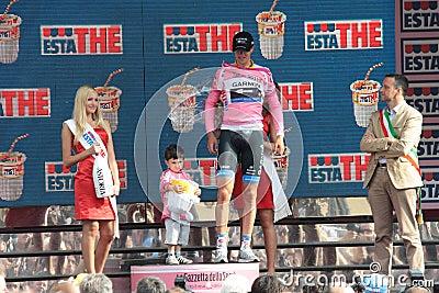 Giro d Italia - Ramunas Navardauskas Editorial Photography