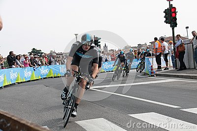 Giro d Italia - SKY team Editorial Photo