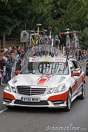 Giro della Gran-Bretagna Fotografia Editoriale
