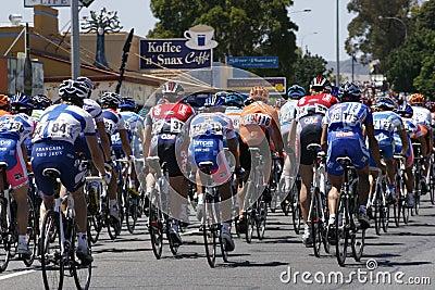 Giro giù sotto Immagine Stock Editoriale
