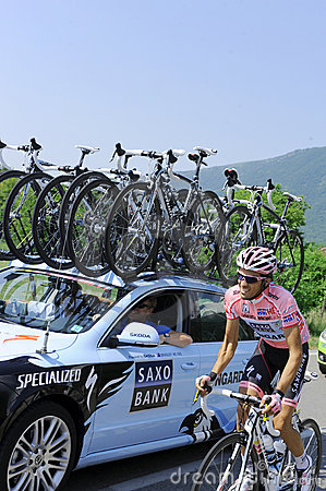GIRO ITALIA Editorial Photo