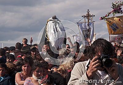Gitan Pilgrimage, Camargue Editorial Stock Image