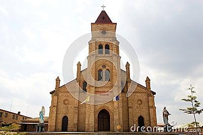 Gitarama church Editorial Stock Image
