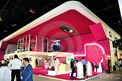 GITEX 2008 - DU Pavilion Editorial Photography