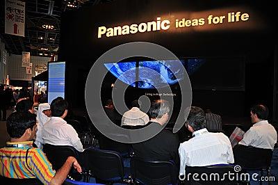 GITEX 2008 - Panasonic Presentation Editorial Photo