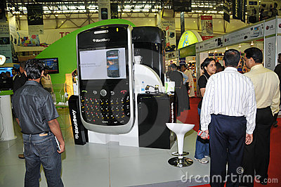 GITEX 2009 -Blackberry Editorial Photo