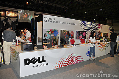 GITEX 2009 - Dell Information Editorial Photo