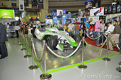 GITEX 2009 -Etisalat Branded Entertainment car Editorial Photography