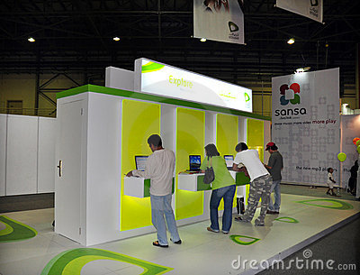 Gitex Shopper 2008 - Etisalat s Explore Horizon Editorial Stock Image