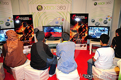 Gitex Shopper 2008 - New Arrived Games Editorial Photo